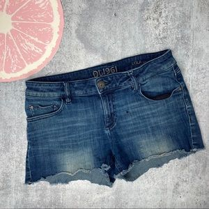 DL 1961 Lola cutoff jean shorts size 26